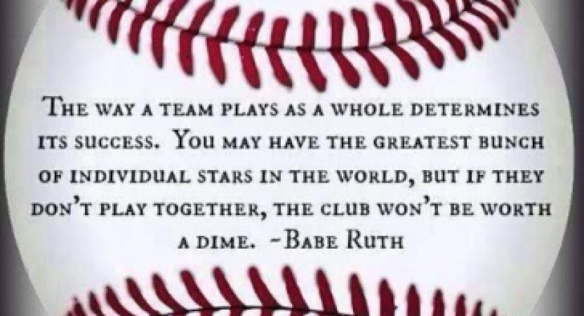 La importancia del trabajo en equipo.