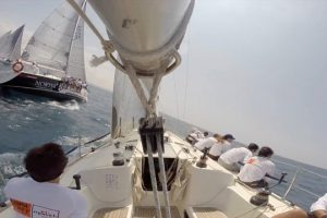 Sailing regata. segundo día Copa del Rey.