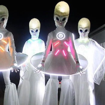 Cosmic Stilts