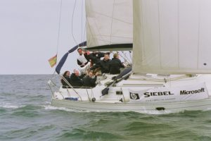 Team racing sailing regatta